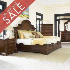 B1607  Panel Bed (침대+협탁+화장대)