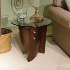 T1696-05  Round End Table