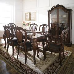 Old World  Dining(1 Table + 2 Arm + 4 Side)~Best Quality~