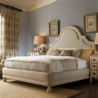 Twilight Bay Margaux Upholstered  Panel Bed (침대+협탁+화장대)