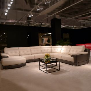 A6030  Leather Sofa