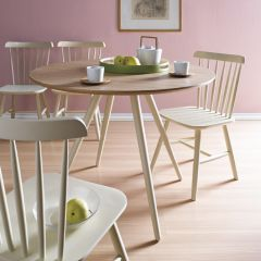 D703R-BG  Dining Set (1 Table + 4 Chairs)