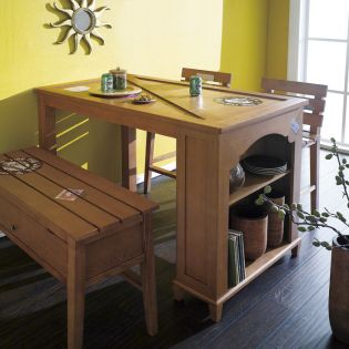 D515-2  Island Dining Table Only  (2인용)