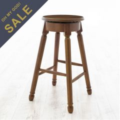 D363-Oak  Bar Stool