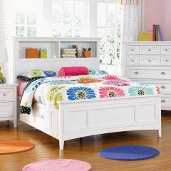 Y1875-58  Bookcase Bed (침대) (매트 규격: 134cmx 193cm)
