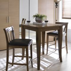 D397-2  Island Dining Set (1 Table + 2 Chairs)