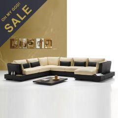 Cesena  Leather Sofa