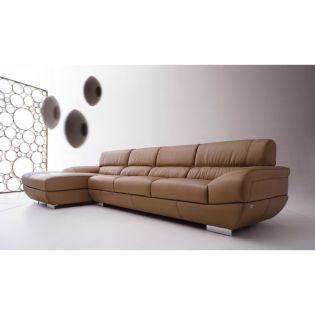 DIV 837-Mouton  Full Leather Sofa (LAF)