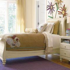 Paula Deen Gals 233A041  Sleigh Full Bed (침대) (매트 규격: 134cmx 193cm)