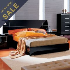 Siena  King Panel Bed (침대+협탁+화장대) ~Made in Italy~
