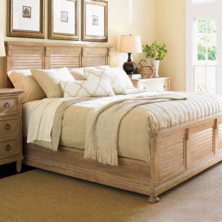 830-143 Monterey Sands  Cypress Point Queen Bed (침대+협탁+화장대)