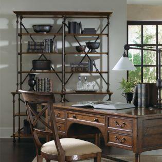 322-812 Vintage PatinaBookcase Deck & Base