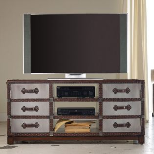 638-55002   Entertainment Console