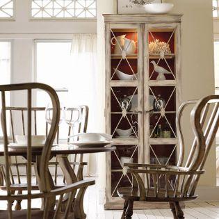 3002-50002  Two-Door Thin Display Cabinet