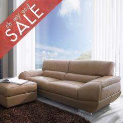DIV 837-Mouton  Leather Sofa