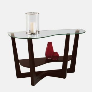 T1042-75  Demilune Sofa Table