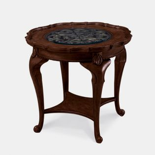 91303 Devonshire  Round Lamp Table