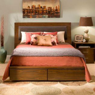 322 Sydney  Panel King Bed (침대+협탁+화장대)