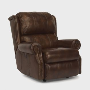 1227-500  Leather Recliner