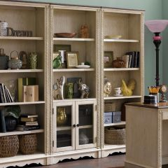 C847-Door  Bookcase