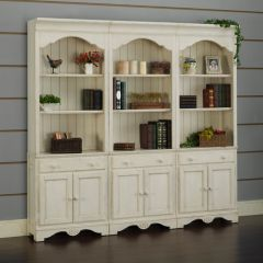 Barton Park BKD28-W   Door Bookcase (1 Pc)
