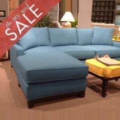 234 Janet-Blue  Sofa