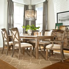 Brownstone Village  Dining Set (1 Table + 2 Arm + 4 Side)