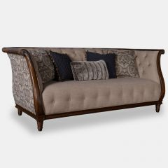 513501-5001 Ava Loden  Tufted Back Sofa