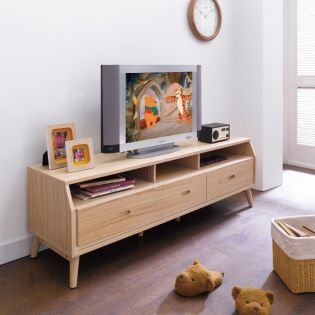 W8600 Natural TV Stand