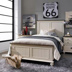 YB1694  Panel Single Bed (침대) (매트 규격: 120cmx 203cm)