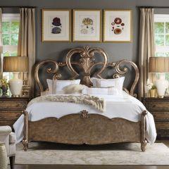 5270-90150  Fretwork Queen Bed