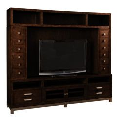 1261-693  Entertainment Wall Unit