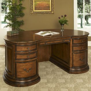 ST-WIN-D72T/B  Executive Desk