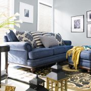 U2541-20  Wood Frame Sofa ~Feather Down (오리털)~