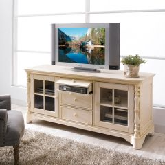 "IQ-BAR-EC66-W  66"" Entertainment Console   ~Good Quality~"