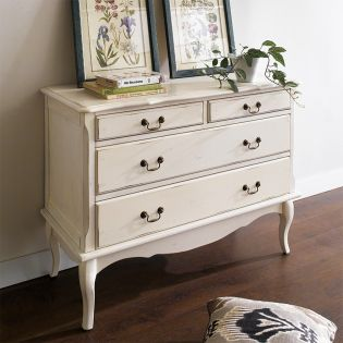 698BUI-1  4-Drawer Chest -Cream ~Good Quality~