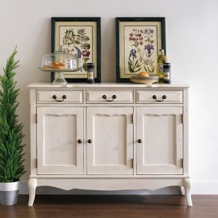 698CI-1  3-Drawer Chest-Cream ~Good Quality~