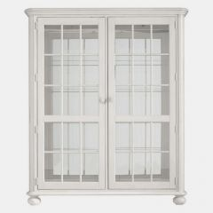 411-21-10 White  Newport Storage Cabinet