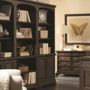 i24-332 Essex  Door Bookcase