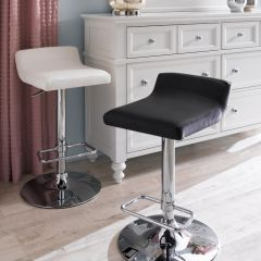 41692-Black-Fiesta  Adjustable Bar Stool