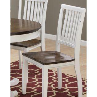 672-42 Braden Birch  Round Dining  Chair