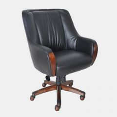 17-8024 Mill Creek II  Leather Chair