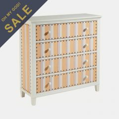 13003  Cabana Stripe Drawer Chest