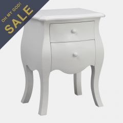 12653 White  2-Drawer Chest