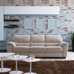 9170-3S  Leather Sofa