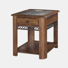 T1125-03  Rectangular End Table
