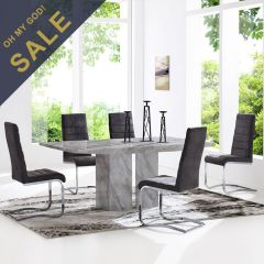 Fusion  Dining Set  (1 Table + 6 Chairs)