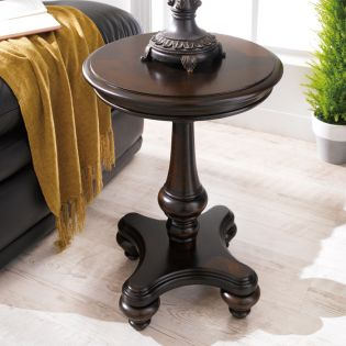 T2541-35  Round End Table