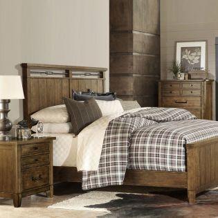 4740-4105K  Panel Bed (침대+협탁+화장대)