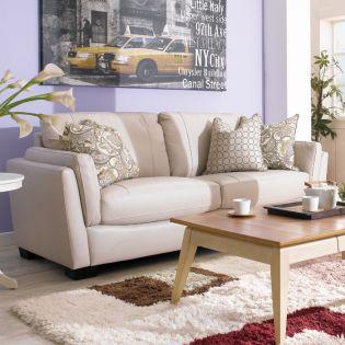 10223-3S  Leather Sofa
